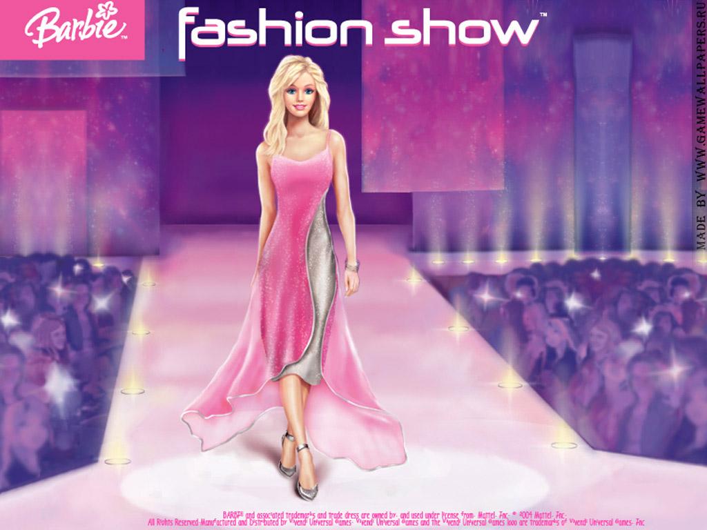 Papel de parede Barbie Fashion Show para download gratuito. Use no computador pc, mac, macbook, celular, smartphone, iPhone, onde quiser!