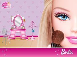 Papel de parede Barbie Vaidosa