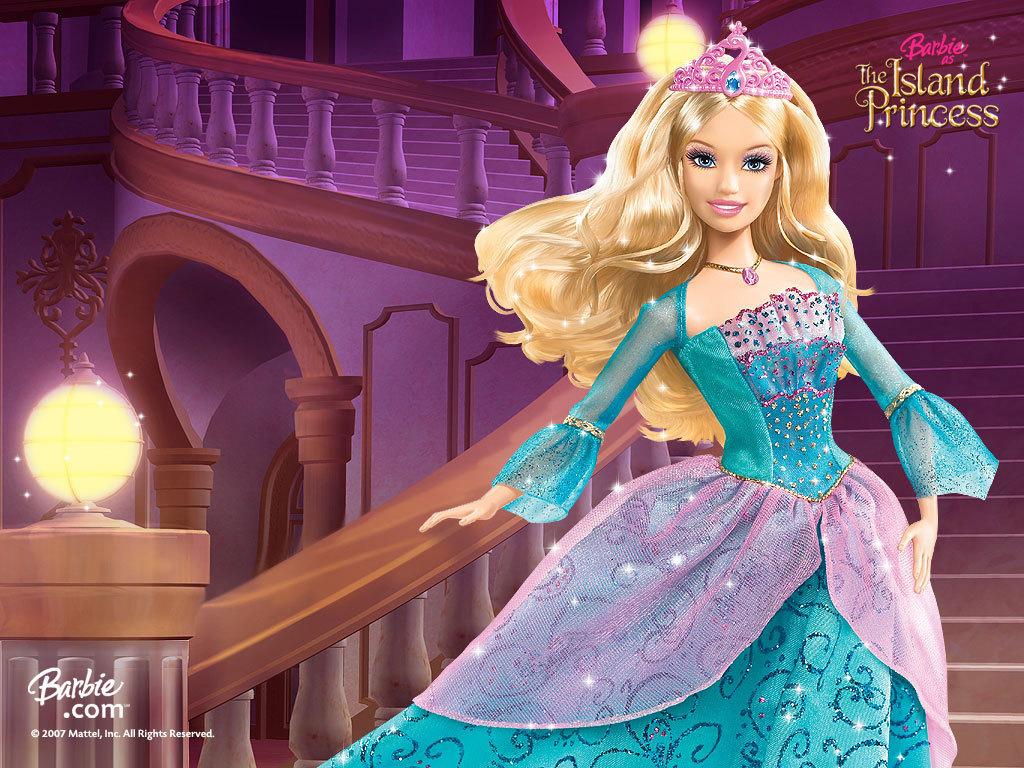 Papel de parede Barbie, a Princesa da Ilha para download gratuito. Use no computador pc, mac, macbook, celular, smartphone, iPhone, onde quiser!