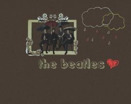 Papel de parede The Beatles – Banda