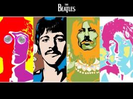 Papel de parede The Beatles – Icônicos