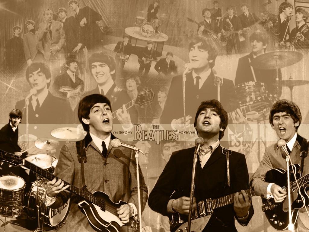 Papel de parede The Beatles – Show para download gratuito. Use no computador pc, mac, macbook, celular, smartphone, iPhone, onde quiser!