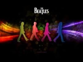 Papel de parede The Beatles – Colorido