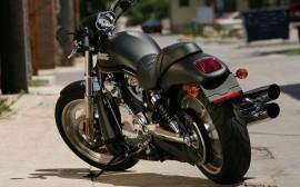 Papel de parede Harley Davidson Preta