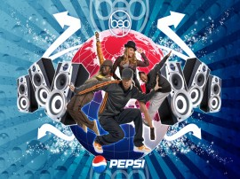 Papel de parede Black Eyed Peas – Pepsi