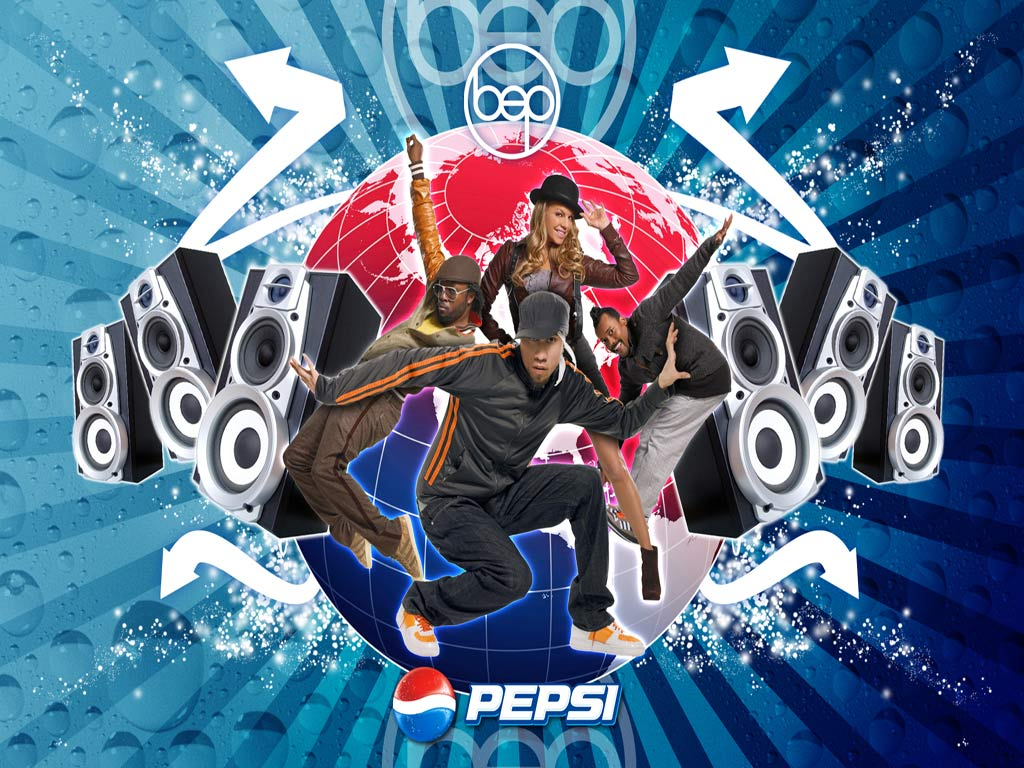 Papel de parede Black Eyed Peas – Pepsi para download gratuito. Use no computador pc, mac, macbook, celular, smartphone, iPhone, onde quiser!