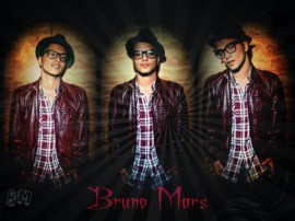 Papel de parede Bruno Mars: Cantor