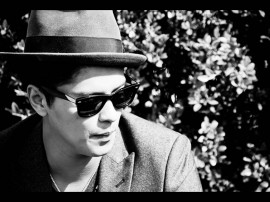 Papel de parede Bruno Mars: Preto e Branco