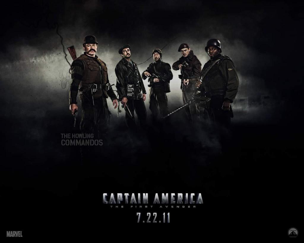 Papel de parede Capitão América – Howling Commandos para download gratuito. Use no computador pc, mac, macbook, celular, smartphone, iPhone, onde quiser!
