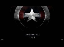Papel de parede Capitão América – Escudo Tradicional