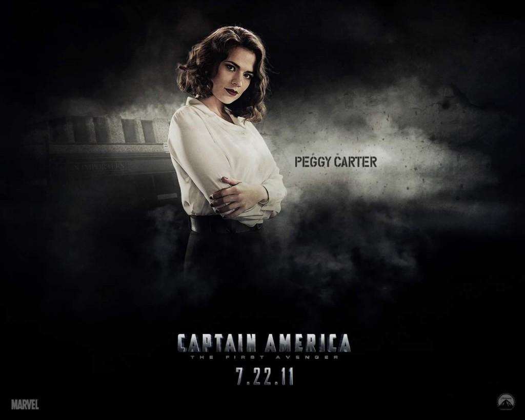 Papel de parede Capitão América – Peggy Carter para download gratuito. Use no computador pc, mac, macbook, celular, smartphone, iPhone, onde quiser!