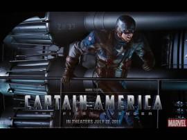 Papel de parede Capitão América – Herói Americano