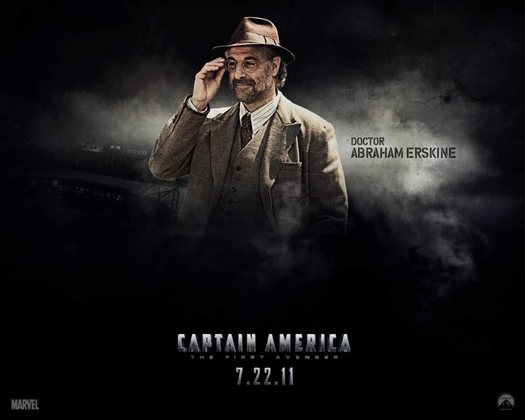 Papel de parede Capitão América – Dr Abraham Erskine para download gratuito. Use no computador pc, mac, macbook, celular, smartphone, iPhone, onde quiser!