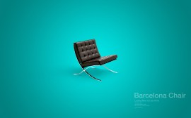 Papel de parede Cadeira – Barcelona