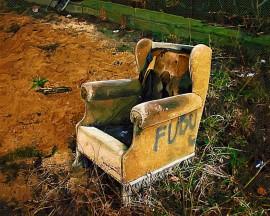 Papel de parede Cadeira – Estragada