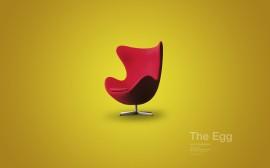 Papel de parede Cadeira – Egg