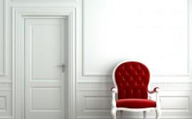 Papel de parede Cadeira – Vermelha