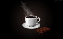 Papel de parede Xícara de Café