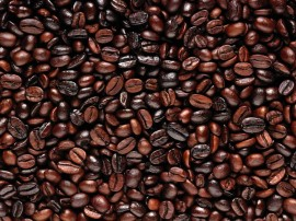 Papel de parede Café em Grãos