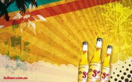 Papel de parede Cerveja Sol