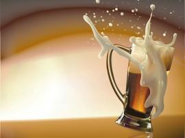 Papel de parede Cerveja Escura