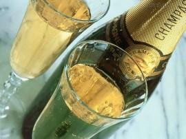 Papel de parede Champagne – Chique