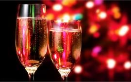 Papel de parede Champagne – Comemorando
