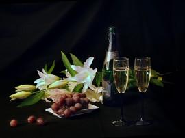 Papel de parede Champagne – Festa