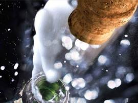 Papel de parede Champagne – Estourando
