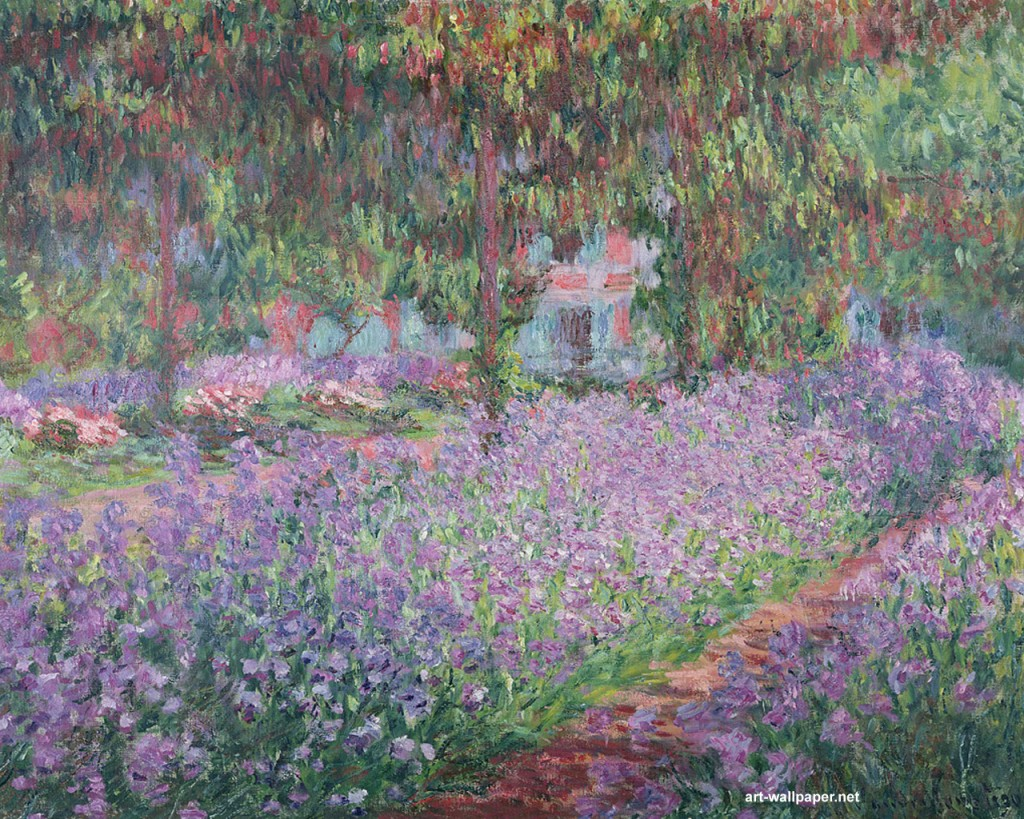 Papel de parede Monet – Quadro para download gratuito. Use no computador pc, mac, macbook, celular, smartphone, iPhone, onde quiser!
