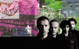 Papel de parede Coldplay: Trechos de Músicas
