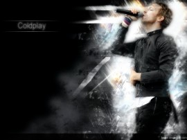 Papel de parede Coldplay: Vocalista