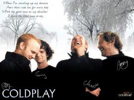 Papel de parede Coldplay: Autógrafos