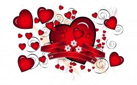 Papel de parede Coração – Chuva de Amor