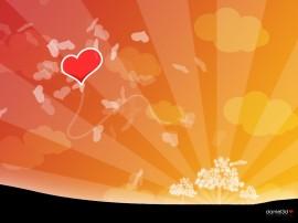 Papel de parede Coração – Amanhecer do Amor