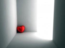 Papel de parede Coração – Solitário