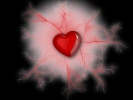Papel de parede Coração – Pulsante