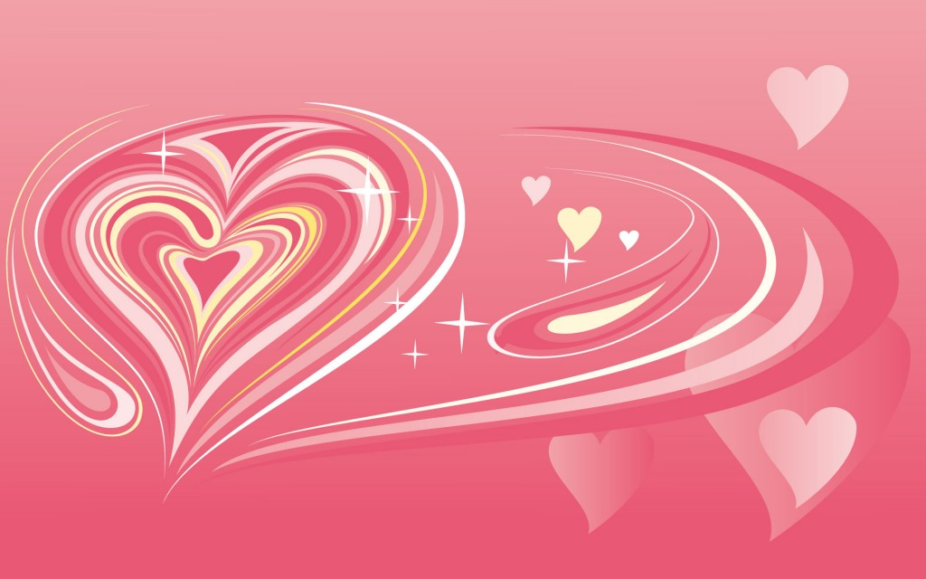 Papel de parede Coração Rosa para download gratuito. Use no computador pc, mac, macbook, celular, smartphone, iPhone, onde quiser!