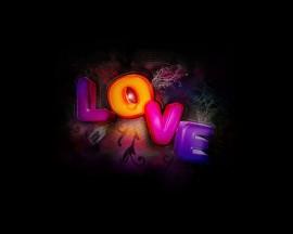 Papel de parede Love