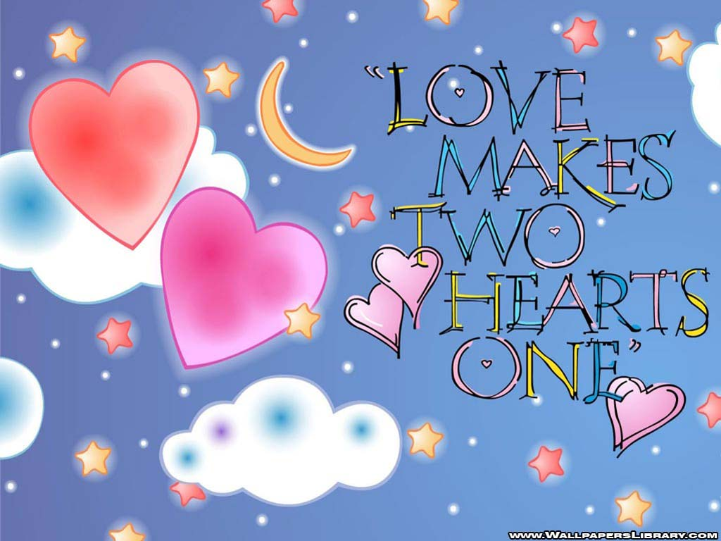 Papel de parede O Amor Faz Dois Corações Virarem Um para download gratuito. Use no computador pc, mac, macbook, celular, smartphone, iPhone, onde quiser!