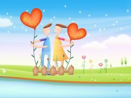Papel de parede Plantando o Amor