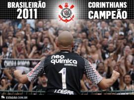 Papel de parede Corinthians: Campeão Brasileirão 2011