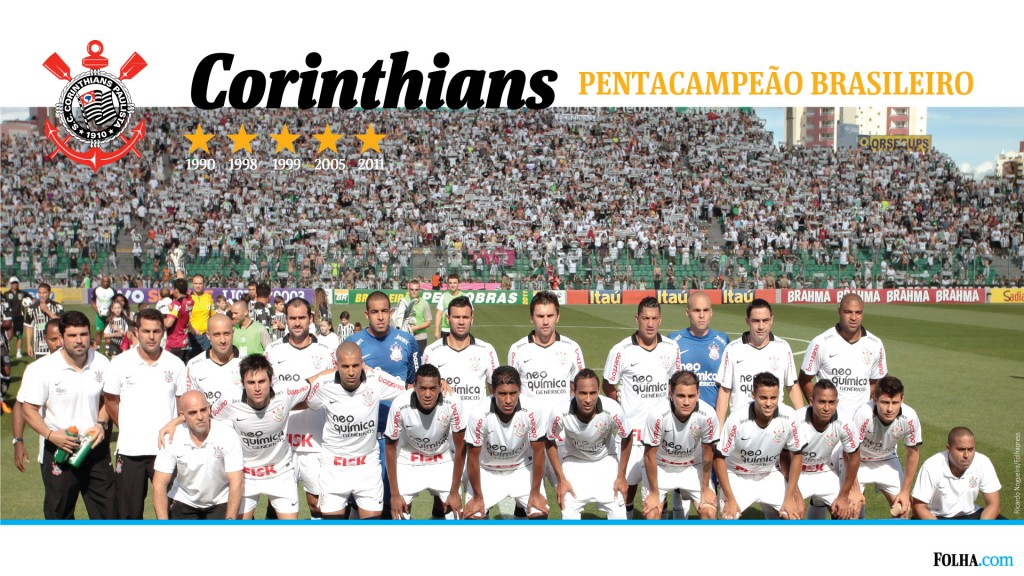 Papel de parede Corinthians: Pentacampeão para download gratuito. Use no computador pc, mac, macbook, celular, smartphone, iPhone, onde quiser!