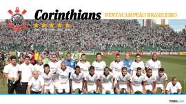 Papel de parede Corinthians: Pentacampeão