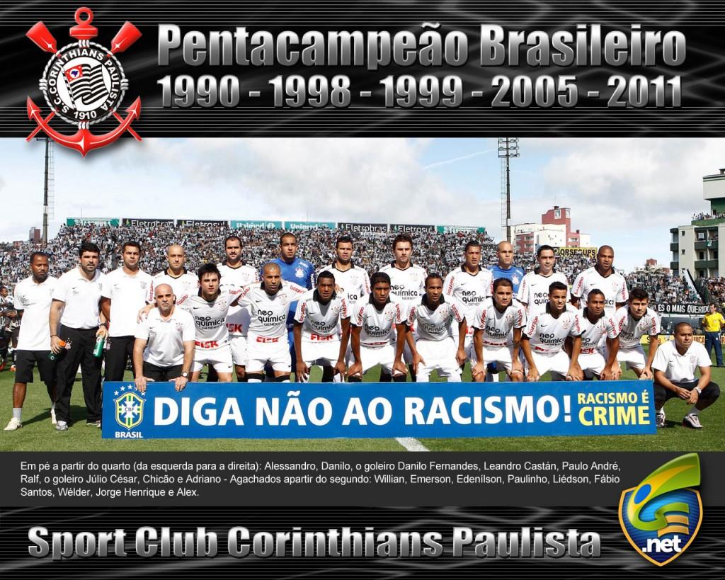 Papel de parede Corinthians: Pentacampeão Brasileiro para download gratuito. Use no computador pc, mac, macbook, celular, smartphone, iPhone, onde quiser!