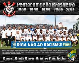 Papel de parede Corinthians: Pentacampeão Brasileiro