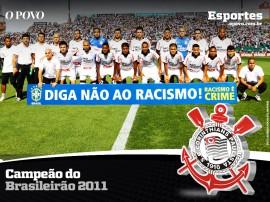 Papel de parede Corinthians: Vencedor do Campeonato Brasileiro 2011