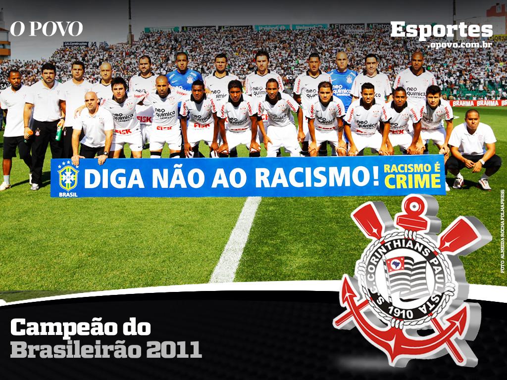 Papel de parede Corinthians: Vencedor do Campeonato Brasileiro 2011 para download gratuito. Use no computador pc, mac, macbook, celular, smartphone, iPhone, onde quiser!