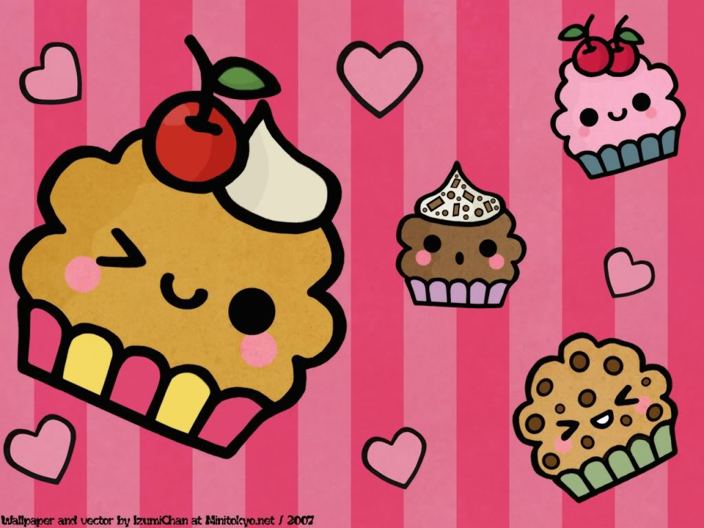 Papel de parede Cupcakes – Lindos para download gratuito. Use no computador pc, mac, macbook, celular, smartphone, iPhone, onde quiser!