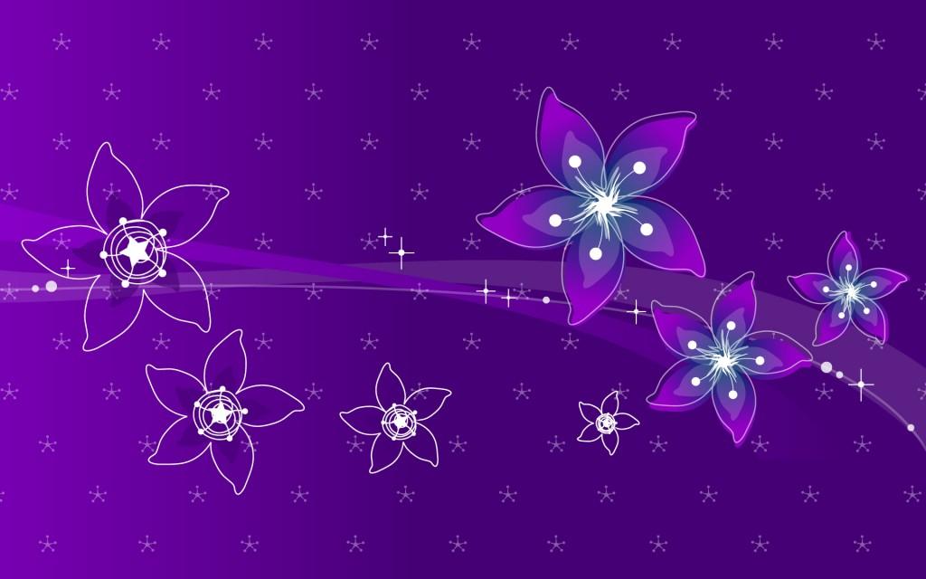 Papel de parede Design: Flores Roxas para download gratuito. Use no computador pc, mac, macbook, celular, smartphone, iPhone, onde quiser!